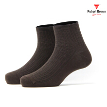 ROBERT BROWN Kaos Kaki Kasual Pendek Pria RBCLA 9821 - Coklat Brown