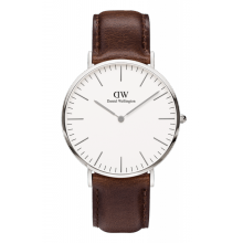 Daniel Wellington Classic Bristol 40mm Silver Case