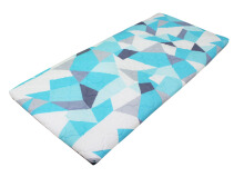 Sleep Max Matras Lipat - Geometric Blue / 80x180x4cm