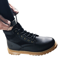 SiYing casual British fashion men's middle Martin boots