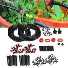 Farfi 150ft Micro Drip Irrigation Self Watering Automatic System Drippers Garden Tool as the pictures