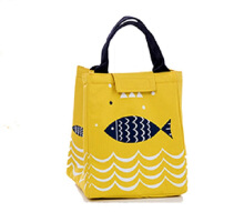 RADYSA Lunch Bag Fish - Kuning Yellow
