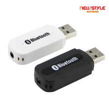 -Newstyle A-101 Bluetooth Receiver Wireless Speaker USB Car Bluetooth Adapter Black
