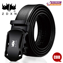 ZDXN Men's fashion business belt - Black(120cm)