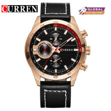 CURREN 8216 Quartz Watch Men Top Brand Luxury Business Wristwatch Male Clock