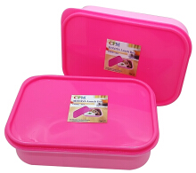 Moniva Lunch Box Set of 2 pcs Pink