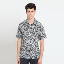 A&D Ms 1260 BAtik Short Sleeve - Green