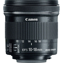 Canon EF-S 10-18mm f/4.5-5.6 IS STM Black