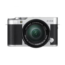 FUJIFILM X-A3 Kit XC 16-50mm f/3.5-5.6 OIS II [Silver] + Instax Mini 8 + SDHC 16GB Black