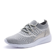 SPROX 387673LGR New Arrival women shoes platform casual shoes woman slip on shoes grey
