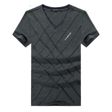 BestieLady 801 Plus Cross line Argyle T-Shirt