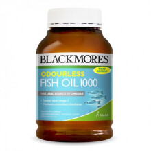 Blackmores Odourless Fish Oil 1000 - 200 Capsules