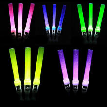 Farfi Funny Glow Light Stick Plastic Wand Concert Performance Party Decor Kids Toy Random Color