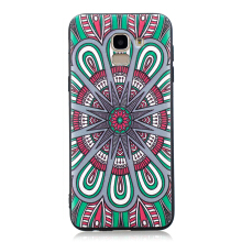 Samsung Galaxy J6 2018 Case Embossed Soft TPU Shockproof Print Protective Cover Multicolor