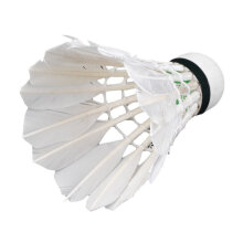 [COZIME] 3pcs Game Sport Training White Duck Feather Shuttlecocks Badminton Ball White