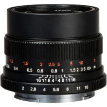 7artisans 50mm F1.1 for Leica M Mount Black
