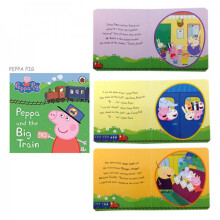 Ladybird Peppa Pig Buku Cerita Anak - Peppa And The Big Train