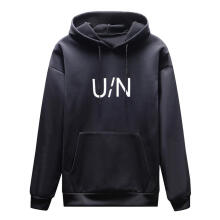 Farfi Letter Drawstring Hooded Long Sleeve Pullover Men's Casual Hoodie Sweatshirt