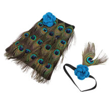 [COZIME] Newborn Baby Peacock Photo Photography Prop Costume Headband Clothes Set Other