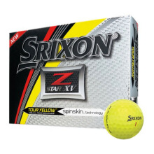 SRIXON Sri17 Z Star Xv5 Yellow Golf Ball - Yellow [One Size] SRI9ZSTR5XVYL