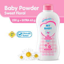My Baby Powder Sweet Floral 250gr Extra Fill 25%