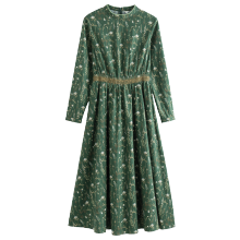 INMAN 1881101396 Dress Light Green