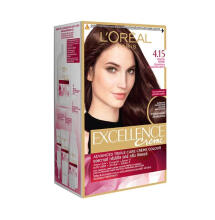 L'oreal Paris Excellence Creme Hair Color - NO 4.15 Frosted Brown