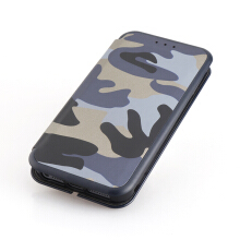 Keymao Apple iPhone 5/5S/SE case Leather Camo Fashion Camouflage Luxury Flip cover