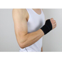 SBART 2pcs Sports Safety Carpal Tunnel Tennis Basketball Badminton Wrist Bandage Brace Support