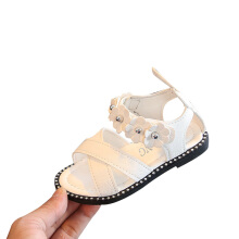 SiYing Korean children's beach shoes flat mouth girls shoes