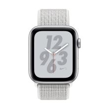 Apple Watch Nike+ Series 4 GPS 40mm MU7F2 Silver Aluminum Case with Summit White Nike Sport Loop