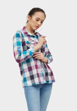 Point One NAVITA Plaids Shirt 354981
