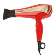 jantens Household Ionic Hair Dryer red