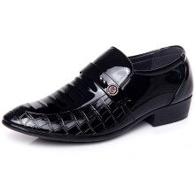 Si Ying Korean version of the men's pointed fashion casual low-top shoes