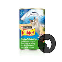 FRISKIES 400 gr adult sardin shrimp and squid (can)