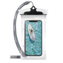RINGKE U-Fix ROUND Waterproof Universal Phone Case (Small) - Black