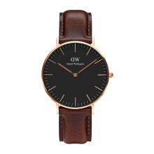 Daniel Wellington Classic Black Bristol - 36mm