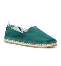 Sakroots Ella Origin Slip On Deep Teal