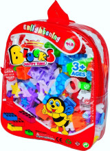 Kaptenstore Mainan Edukasi Block Happy Time isi 102 Pcs - Mainan Lego Multicolor