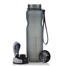 Jantens 1000ML Sport Water Bottles Drinking Water For Bottle Black