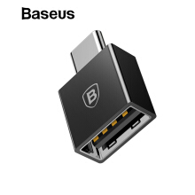 Baseus Type C Male to USB Female Cable Adapter Converter For USB C to USB ( Male to Female ) Charger Plug OTG Adapter Converter - Black Type C to USB ( Male to Female)