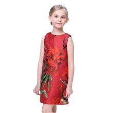 Girls Jacquard Dress Girls Children's Dress Children's Princess Dress