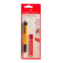 FABER-CASTELL 133810 Auto Mech Pencil 0.5 Transparant (Random Color)