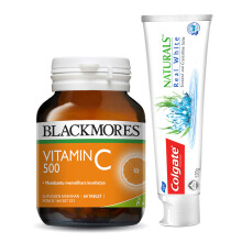 COLGATE Naturals Real White X BLACKMORES