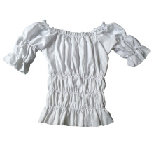 BESTIELADY Costume Top-White-S