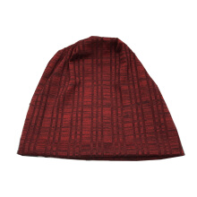 SiYing Fashion Wild Check Ribs Pleated Windproof Warm Women's Cap
