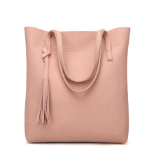 SiYing Fashion fringed lychee carrying handbag
