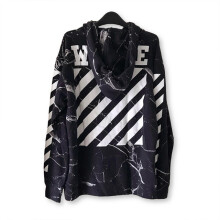 Off White Marble Hoodie