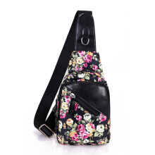 BOBO fashion printed chest bag wild single shoulder diagonal dual-use women's bag