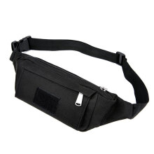 [kingstore]Outdoor Sports Waist Bag Travel Running Fitness Black